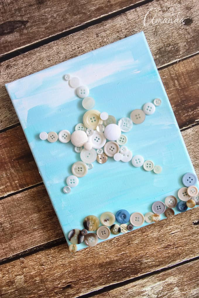 an easy and adorable button craft for all ages!