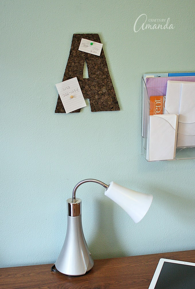 easy dorm room craft in less than 20 minutes