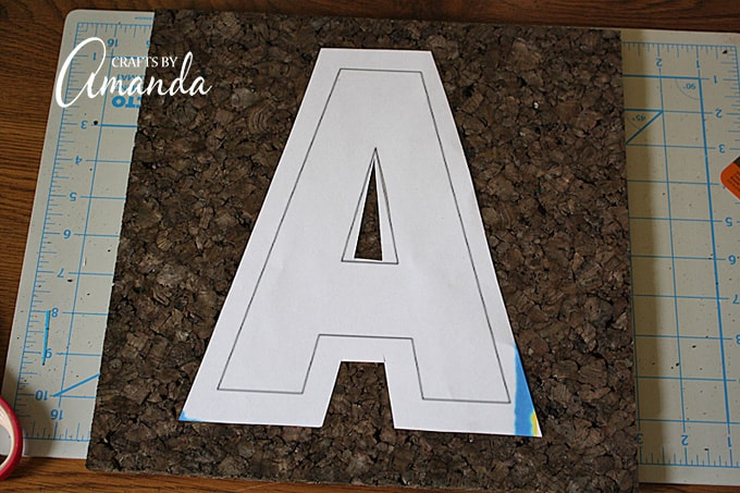 """You can find free letter templates on the Internet by simply searching """"letter A template"""" (change A to the letter you wish to find)."""