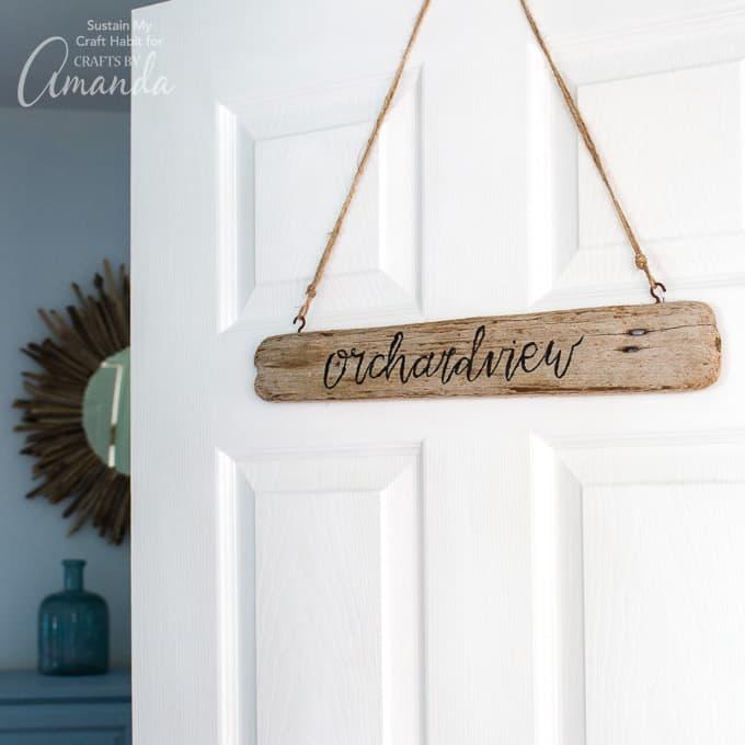 Driftwood Sign 680