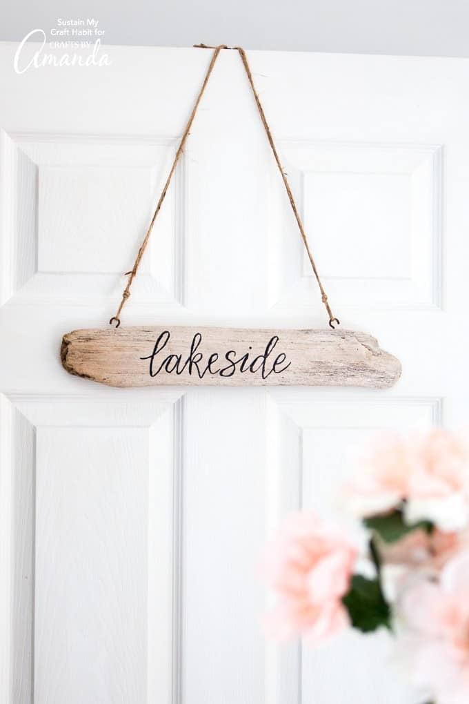 Beach Decor: Driftwood Signs
