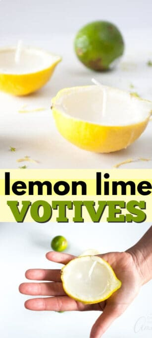 lemon lime votive pin image