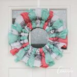 How to make a bandana wreath