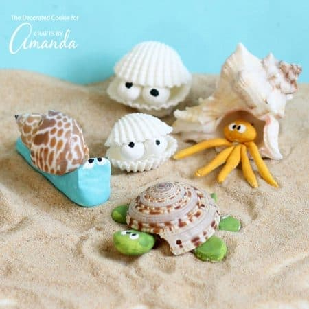 Crafts for adults and kid 39 s crafts crafts by amanda for Seashell crafts for adults