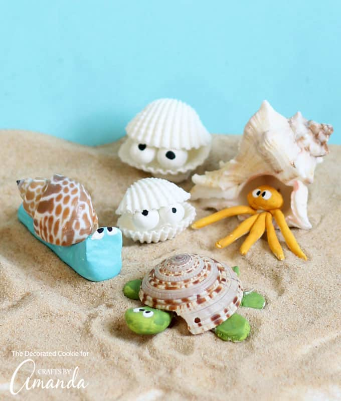 an easy and adorable beach craft!