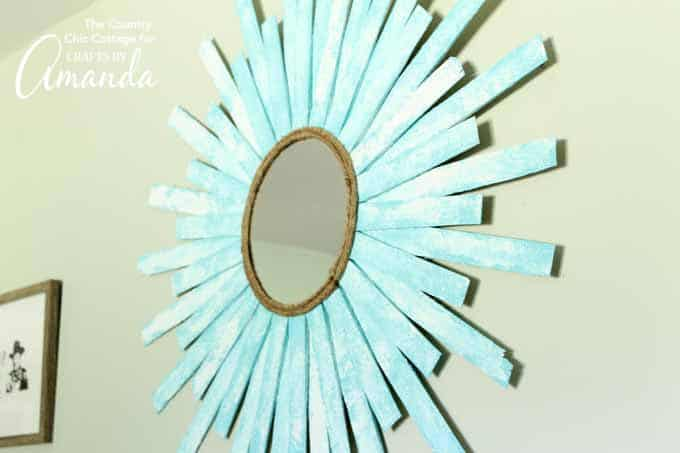 Sunburst Mirror- How to