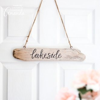 Driftwood Sign