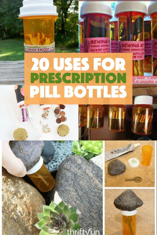 How To Reuse Prescription Pill Bottles