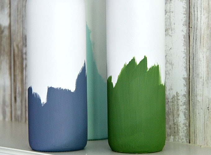Painted Wine Bottles Step 4