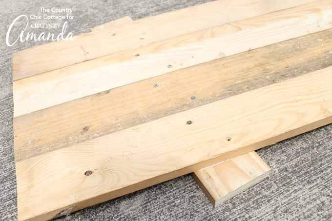 Three foot boards for reversible scarecrow snowman signs