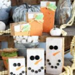 Reversible Scrap Wood Pumpkins