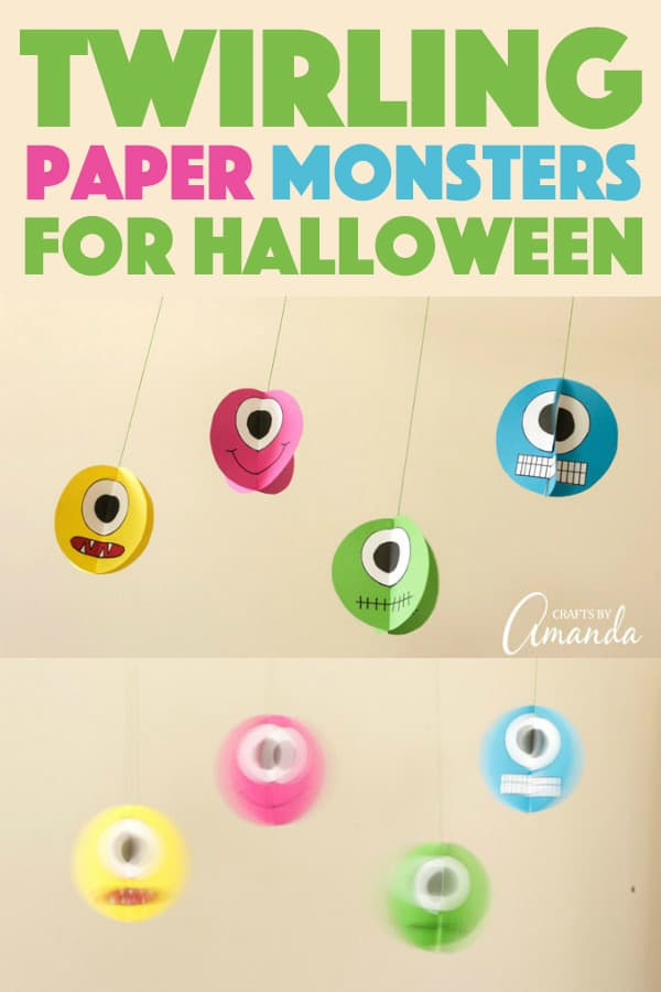 Twirling Paper Monsters