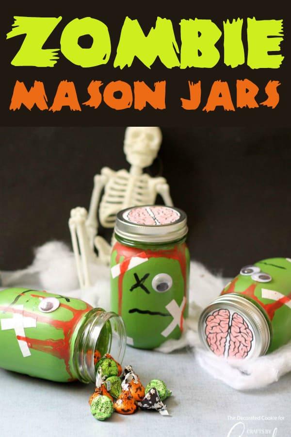 Zombie Mason Jars!