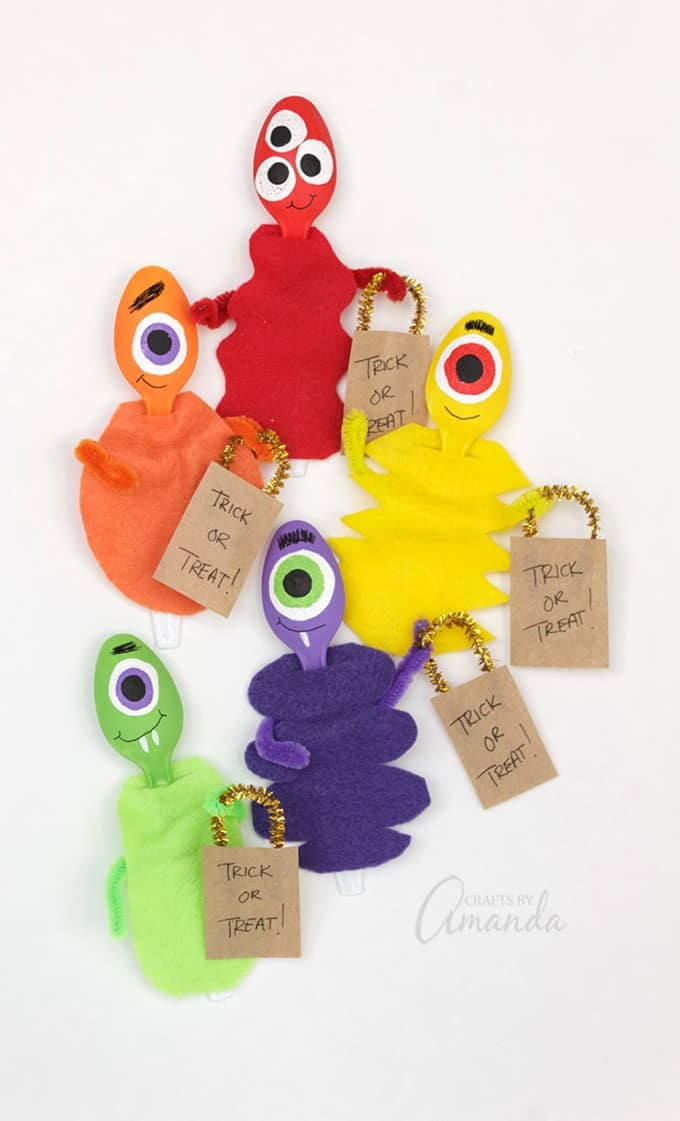 How to make Plastic Spoon Monsters!