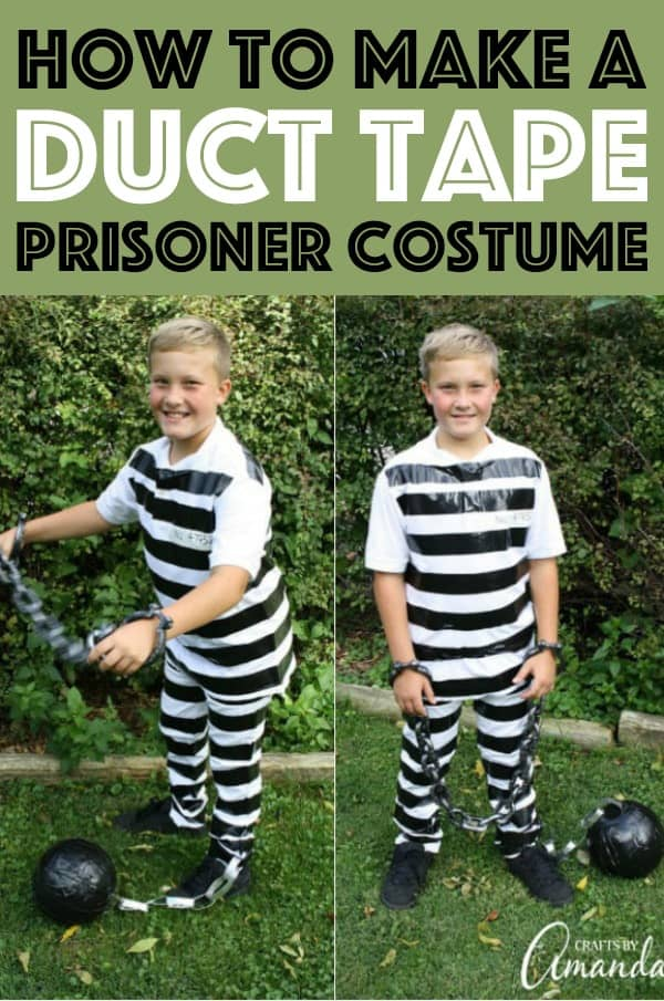Duct Tape Prisoner Costume