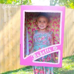 Cute! Doll in a box costume