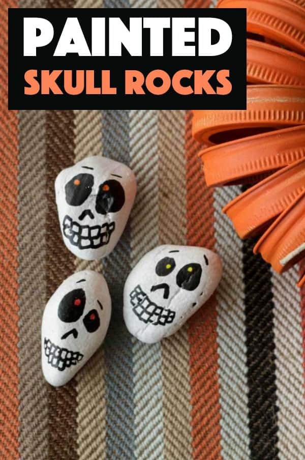 Skull Rocks- rockpainting