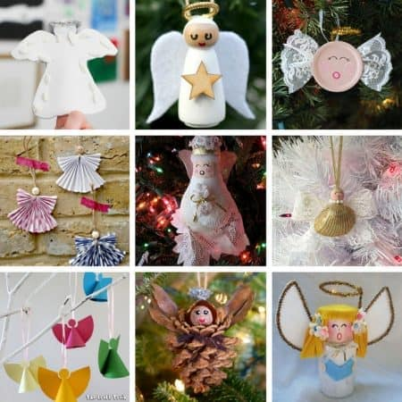 A collection of beautiful angel crafts for kids!