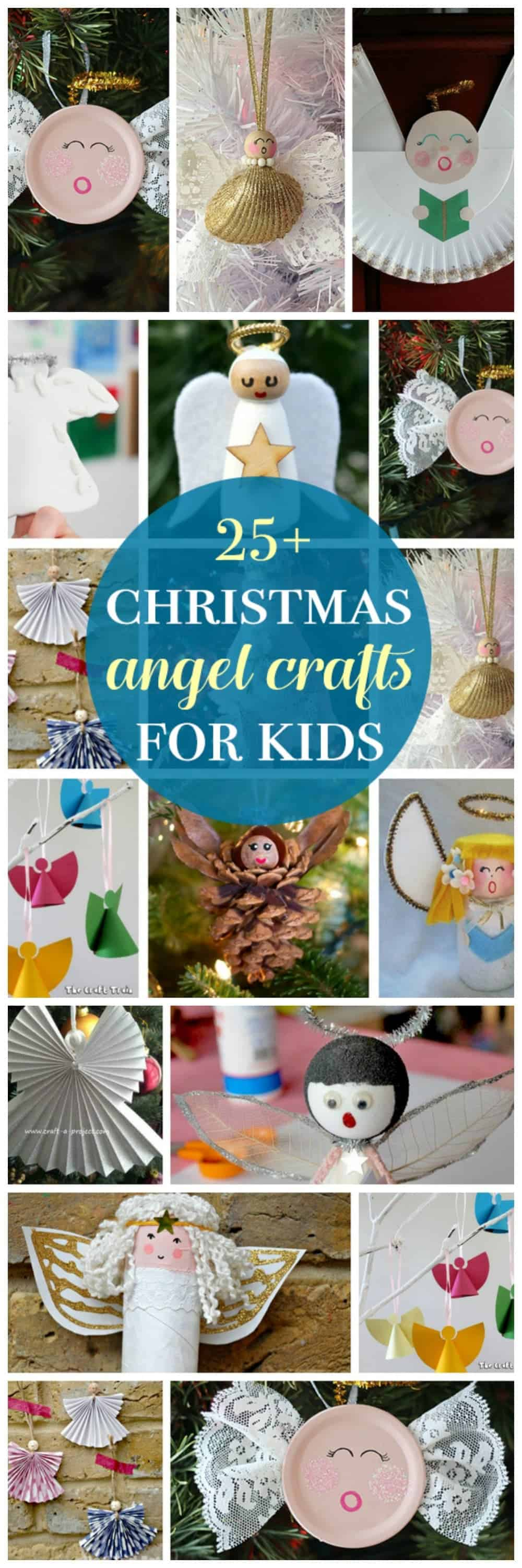 Angel crafts are the perfect Christmas activity to do with kids after reading the classic Christmas story, or while listening to some Christmas carols!