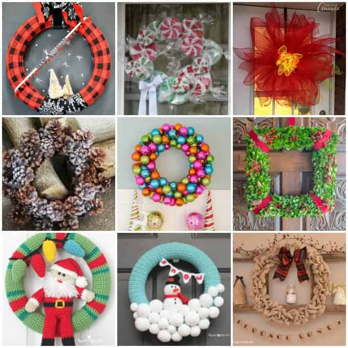 christmas decor wreaths