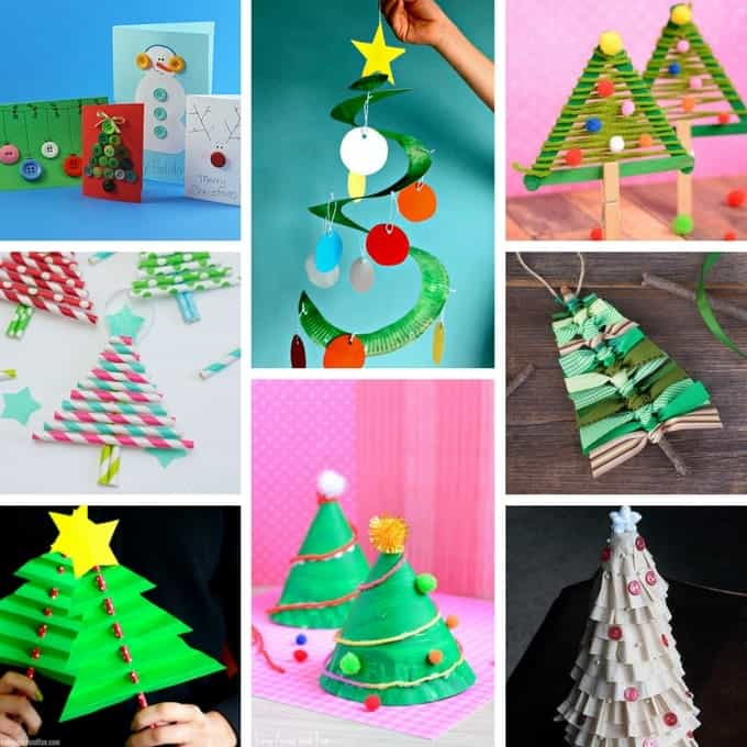 Christmas crafts for kids - great ideas