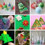 35 fun to make Christmas crafts for kids
