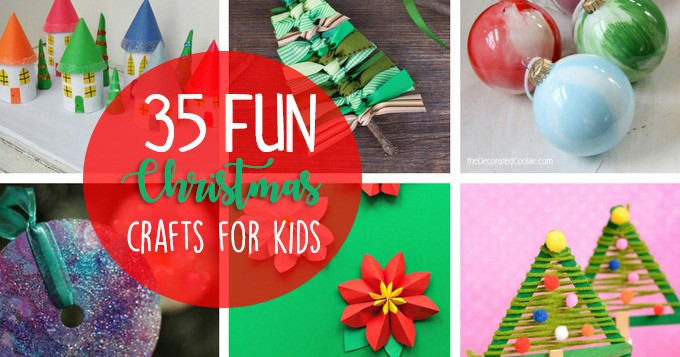 Christmas Crafts For Kids 35 Fun And Easy Holiday Ideas