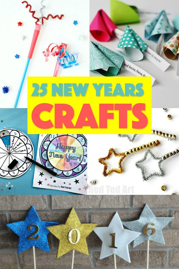 25 New Years Crafts