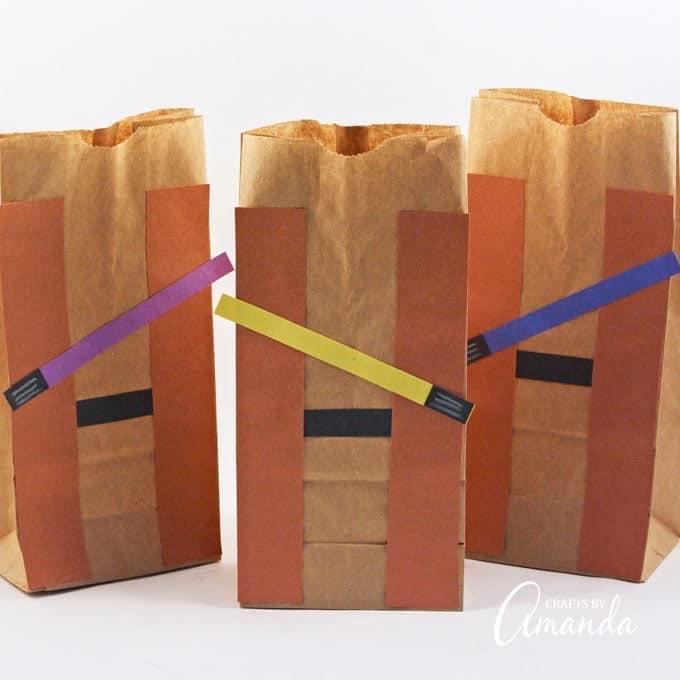Jedi Party Favor Bags