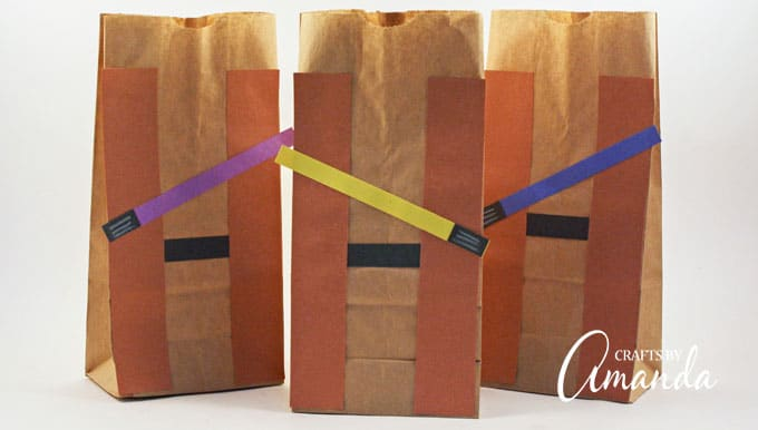 Jedi Party Favor Bags Star Wars