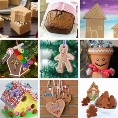 Gingerbread Crafts and Recipes