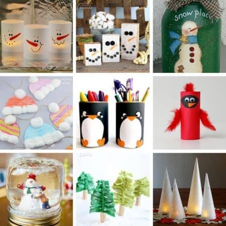 Winter Crafts: We have everything from crafts inspired by our feathered friends, to snowflake and snowman crafts, and of course some mason jar crafts!