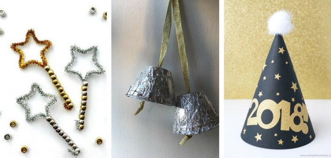 How do you celebrate New Year's with your kids? Which of these crafts will you be making with them?