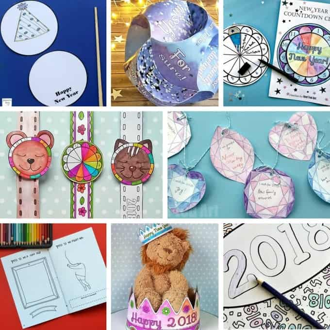 14+ New Year Art And Craft