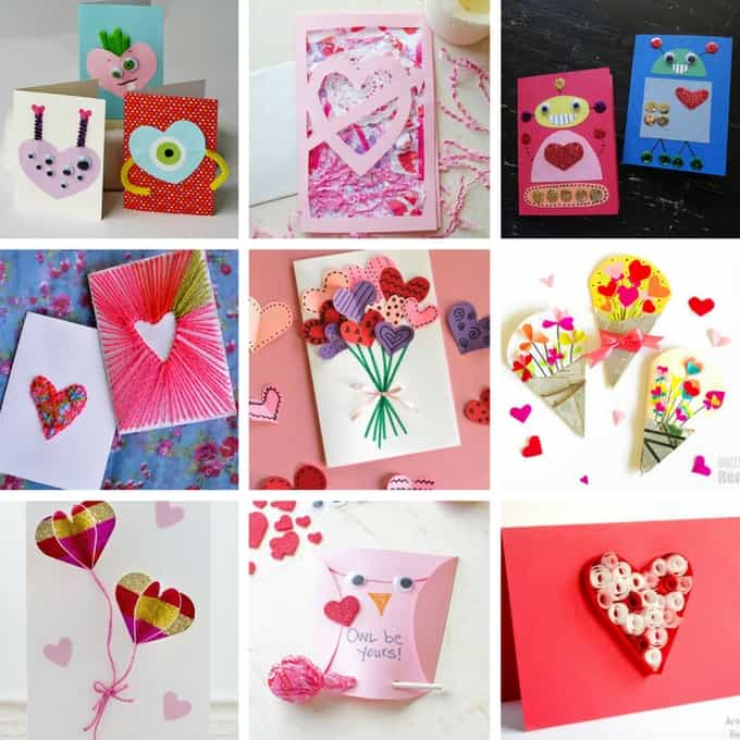 Valentine's day homemade cards