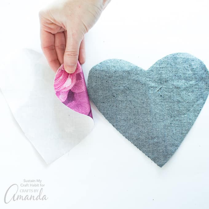 How to make a Heart Garland Step 3