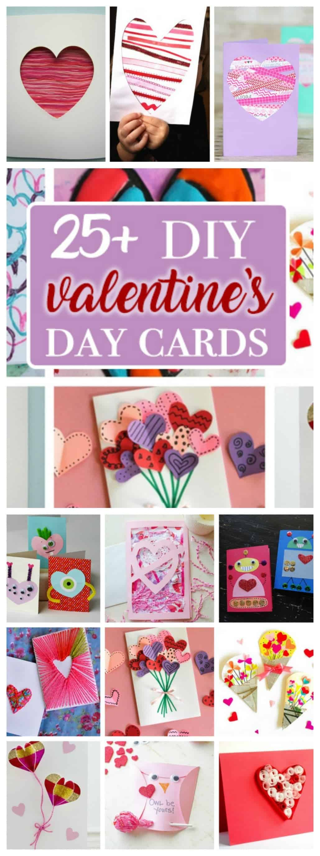 Valentine's Day Cards: create a heartfelt homemade Valentine's Day card!