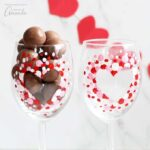 How to Paint Wine Glasses (Valentine's Day)