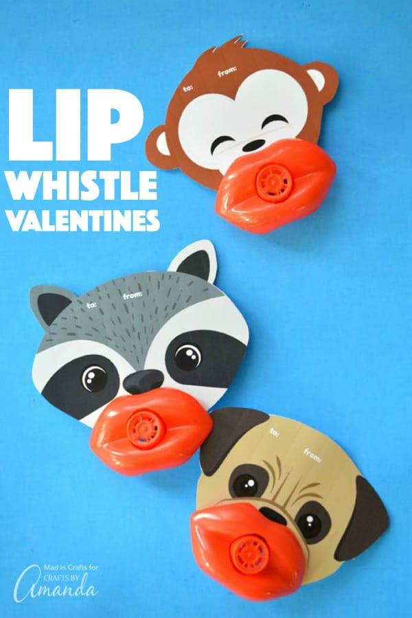 Lip Whistle Valentines