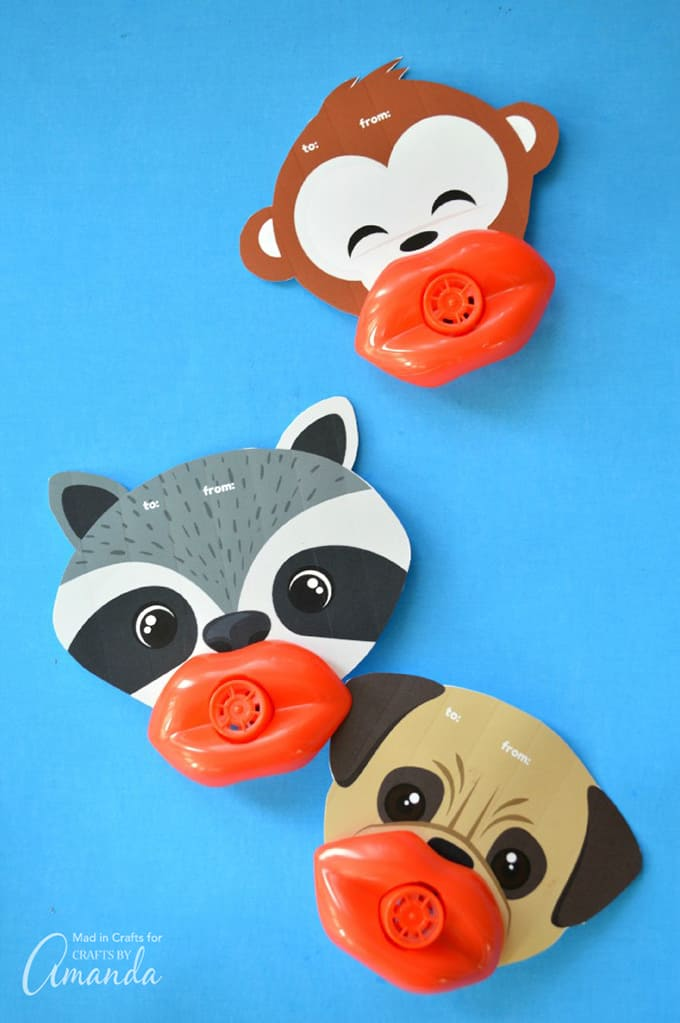 Funny Lip Whistle Valentines