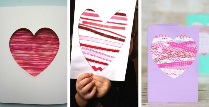 Heart valentine's day cards