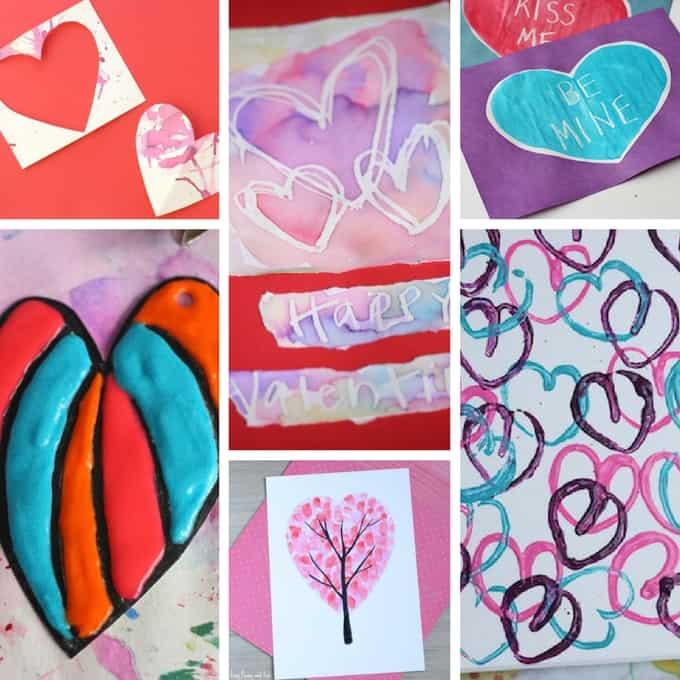 Kid friendly valentine's day cards