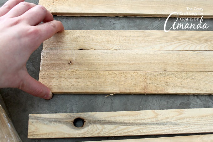 How to make a wood shim planter box step 2