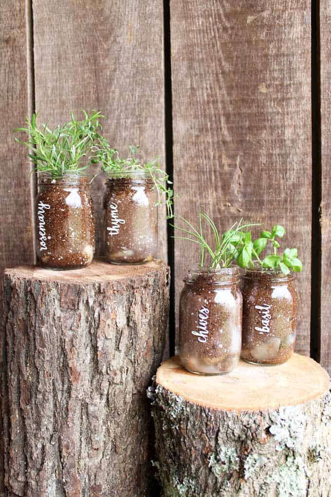 Herb Garden Markers Diy