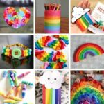 Rainbow Crafts for Kids for St. Patrick's Day!
