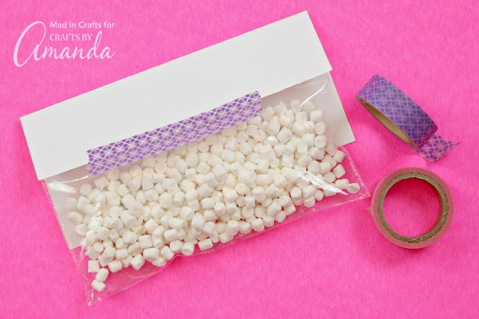 How to Make Your Own Bunny Bait Printable Easter Treat Bags step 2