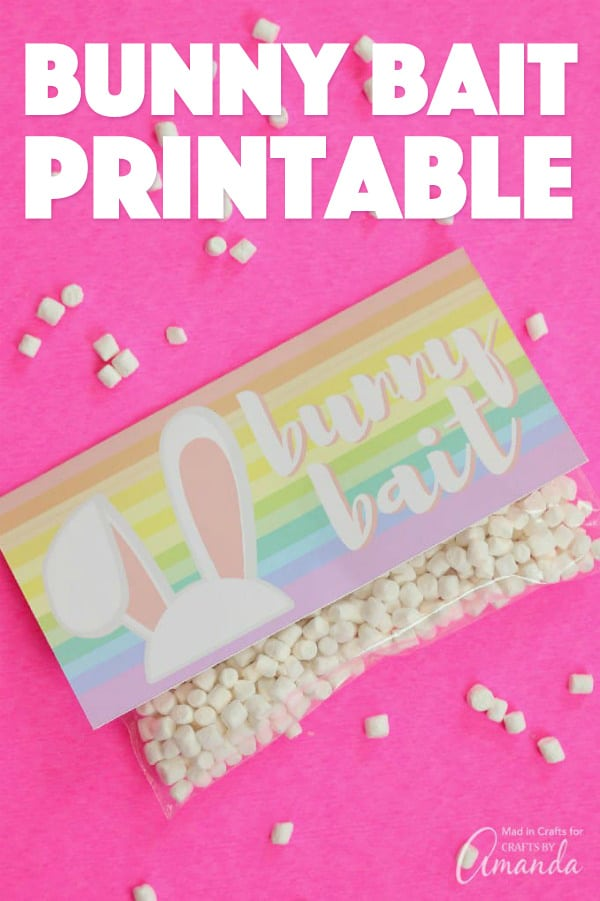 Bunny Bait Free Printable
