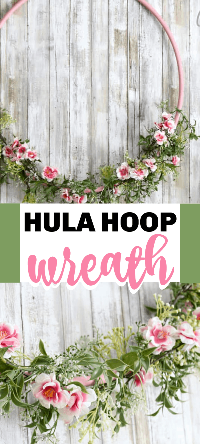 Hula Hoop Wreath
