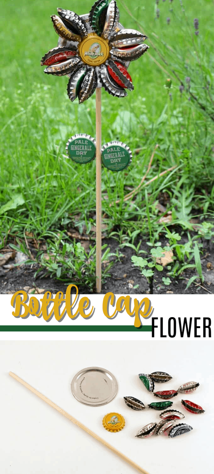 Bottlecap Flowers | A Guide to Upcycled Homesteading