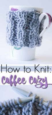 coffee cozy pin image